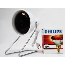 Lâmpada Infravermelho Philips 150w Com Suporte + Manual !