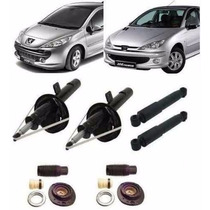 04 Amortecedores + Kit´s Peugeot 206/207 - Novo 12x S/ Juros