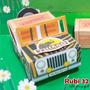 Lembrancinha, Aniversário Infantil, Jeep Safari - 10 Unid