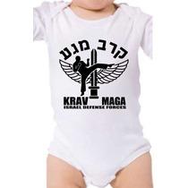 Body Baby Krav Maga Luta Arte Marcial Defesa Personalizado