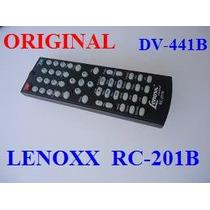 Rc201b - Rc 201 B - Controle Remoto P/ Dvd Lenoxx - Dv441b