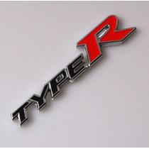 Emblema Type R Lataria Linha Honda Civic Fit City Hrv ...
