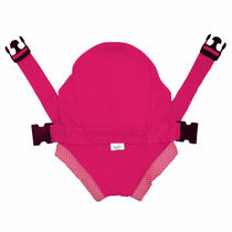 Canguru Click Rosa - Suporta Até 15 Kg - Bebê Passeio