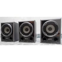 Vendo Kit 03 Caixas Sony Muteki 2000 - 140w Cada