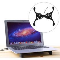 Base Cooler Externo Usb Exaustor Notebook Macbook Laptop