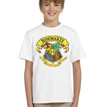 Camisa Infantil Harry Potter Hogwarts