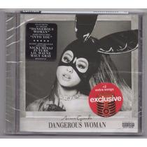 Cd Ariana Grande - Dangerous Woman [target +2 Bonus Tracks]