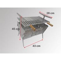 Churrasqueira Aluminio Batido Desmonta E Monta Facil