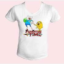 Camiseta Babylook Feminina Hora De Aventura 01