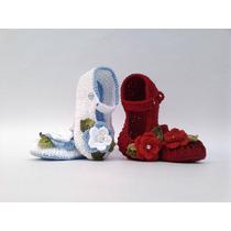 Ak2 Kit Com 2 Sapatinhos Croche Pague 1 Frete Varios Modelos