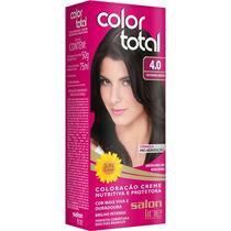 Coloração/tintura Permanente Color Total 4.0 Castanho Médio