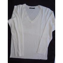 Blusa Branca Em V Atmosphere Tamanho M
