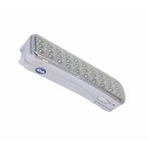10x Luz De Emergência Luminária Recarregável 30 Leds Bivolt