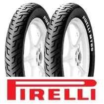 Pneu Pirelli 100/90-18 + 2.75-18 Mt65 S/câmara 12x S/ Juros