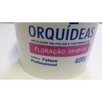 Adubo Peters Forth Orquideas Floração Fertilizante Azul