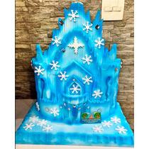 Castelo Frozen Em Isopor