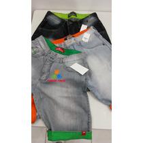 Kit 5 Bermudas Jeans Masculino Hollister Oakley