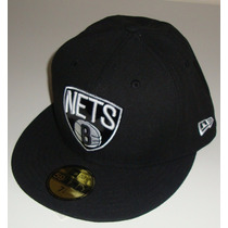 Boné Brooklyn Nets Nba Original Aba Reta Fechado New York