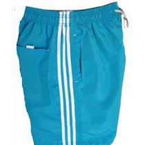 Kit 5 Bermuda Short Masculino Tactel Academia Esporte Corrid