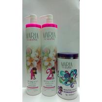 Escova Maria Escandalosa+botox Violet 1kg+brinde Fretegrátis