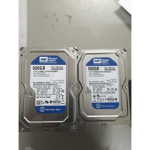 Hd 500g Pc Western Digital Sata Model Wd5000aakx-d03ca0