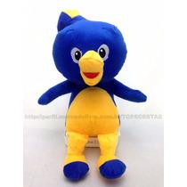 Boneco Pablo Backyardigans 35cm Pelúcia Azul Menino Criança