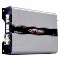 Modulo Soundigital Sd1200.4 Sd1200.4d Sd1200 1200w 4 Canais