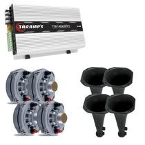 Kit 4 Driver Selenium D250x + 4 Corneta + Capacitor +ts400x4