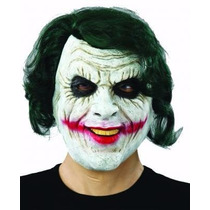 Mascara Coringa Curinga Joker Batman Vilão Heath Ledger