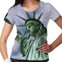 Camiseta Estados Unidos State Of Liberty Feminina