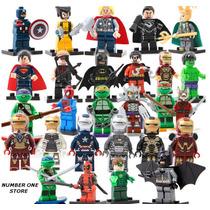 Bonecos Lego Heróis Avengers Marvel Liga Da Justiça