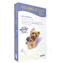 Anti Pulgas Revolution Para Cães De 2,6 Á 5,0 Kgs