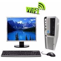 Computador Pc Completo Wifi Monitor Lcd 15
