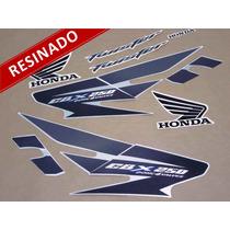 Kit Adesivos Cbx Twister 250 2007 Prata - Resinado - Decalx