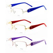 Armação Para Óculos De Grau Feminina Retrô Vintage - 3516