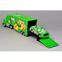 Carreta Mack Filme Carros Caminhão Miniatura Verde + Carro