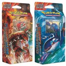 2 Decks Pokémon Xy Conflito Primitivo Groudon Kyogre