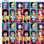 Kit Com 36 Adesivos Decorativo Para Azulejo Pop Celebridades