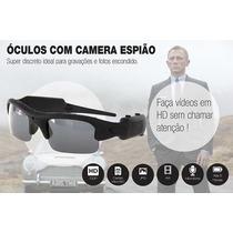 Óculos Espião Camera Filmadora Espiã Hd Alta Resolução E74