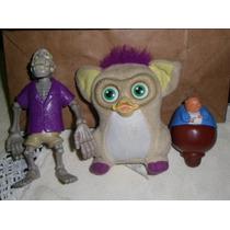 Lote Colecionáveis Little Pet Shop, Furby E Porquinho Disney