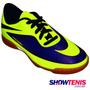 Tênis Hypervenom Phade Jr Futsal - Roxo E Verde Limão Ni