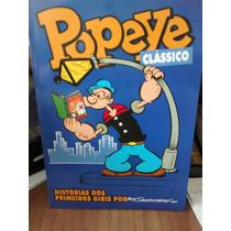 Popeye Clássico Histórias Dos Primeiros Gibis Bud Sagendorf