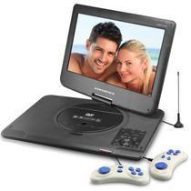 Dvd Portátil Powerpack 1563 Tv Digital + Jogos Tela 15,6¨