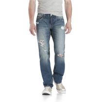 Aeropostale Mens Bowery Reta Slim Fit Jeans