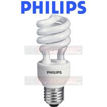 Kit 12 Lâmpadas Philips Espiral Eletrônica 15w Amarela 127v