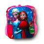 Mochila Frozen Elsa E Anna 3d Alto Relevo Escolar Disney