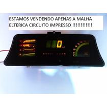 Monza Classic Malha Eletrica Painel Digital Circuito Novo