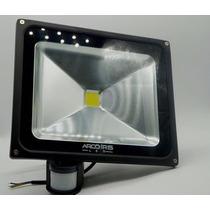 Refletor De Led 30w Com Sensor De Presença Luz Branco Frio