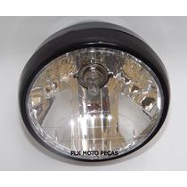 Farol Completo Honda Cg Titan 150 - Fan 150 2004 Até 2013