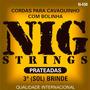 Jogo De Corda Nig Cavaquinho N450 + Brinde - Loja Física